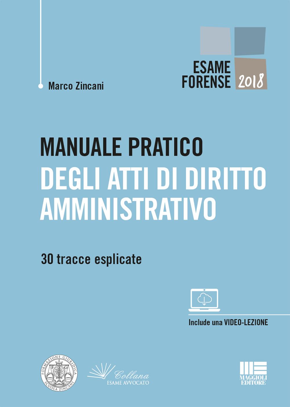 Manuale pratico atti diritto amministrativo Libro carta