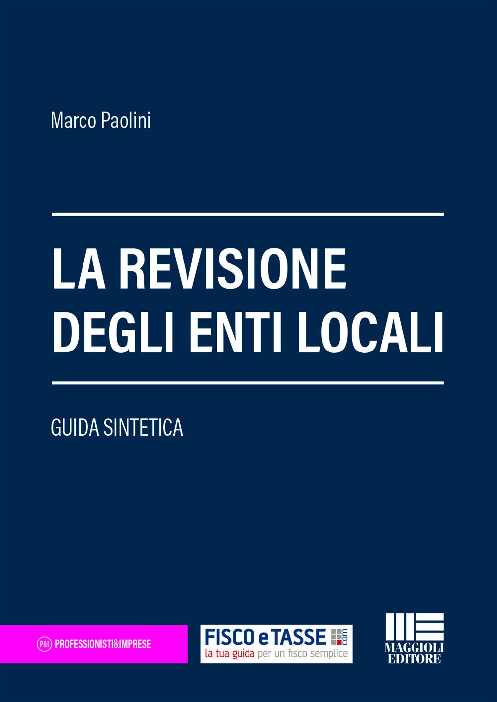 La revisione degli enti locali - Libro carta