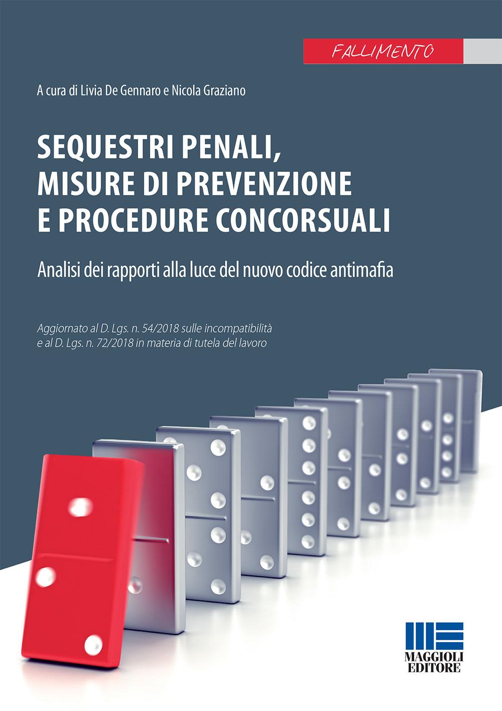 Sequestri penali, misure di prevenzione -Libro Carta