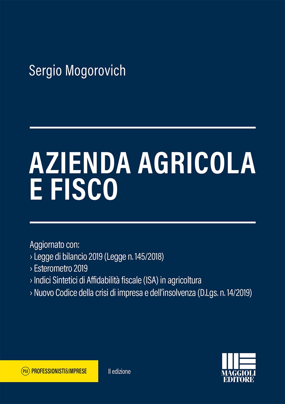 Azienda agricola e fisco - Libro Carta