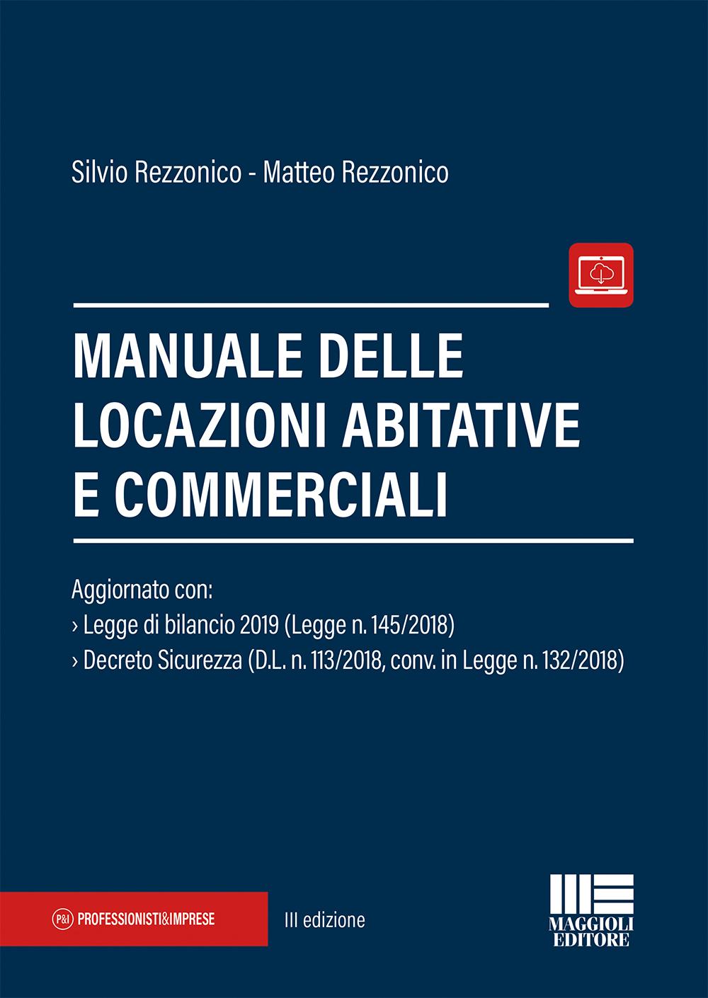 Manuale locazioni abitative e commerciali-Libro Carta