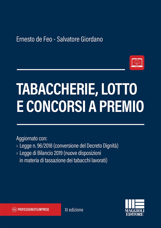 Tabaccherie, lotto e concorsi a premio-Libro Carta