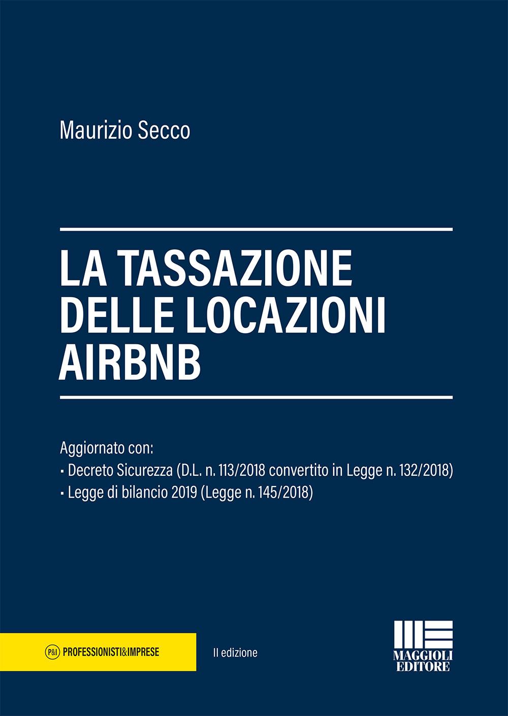 La tassazione delle locazioni AIRBNB - Libro carta
