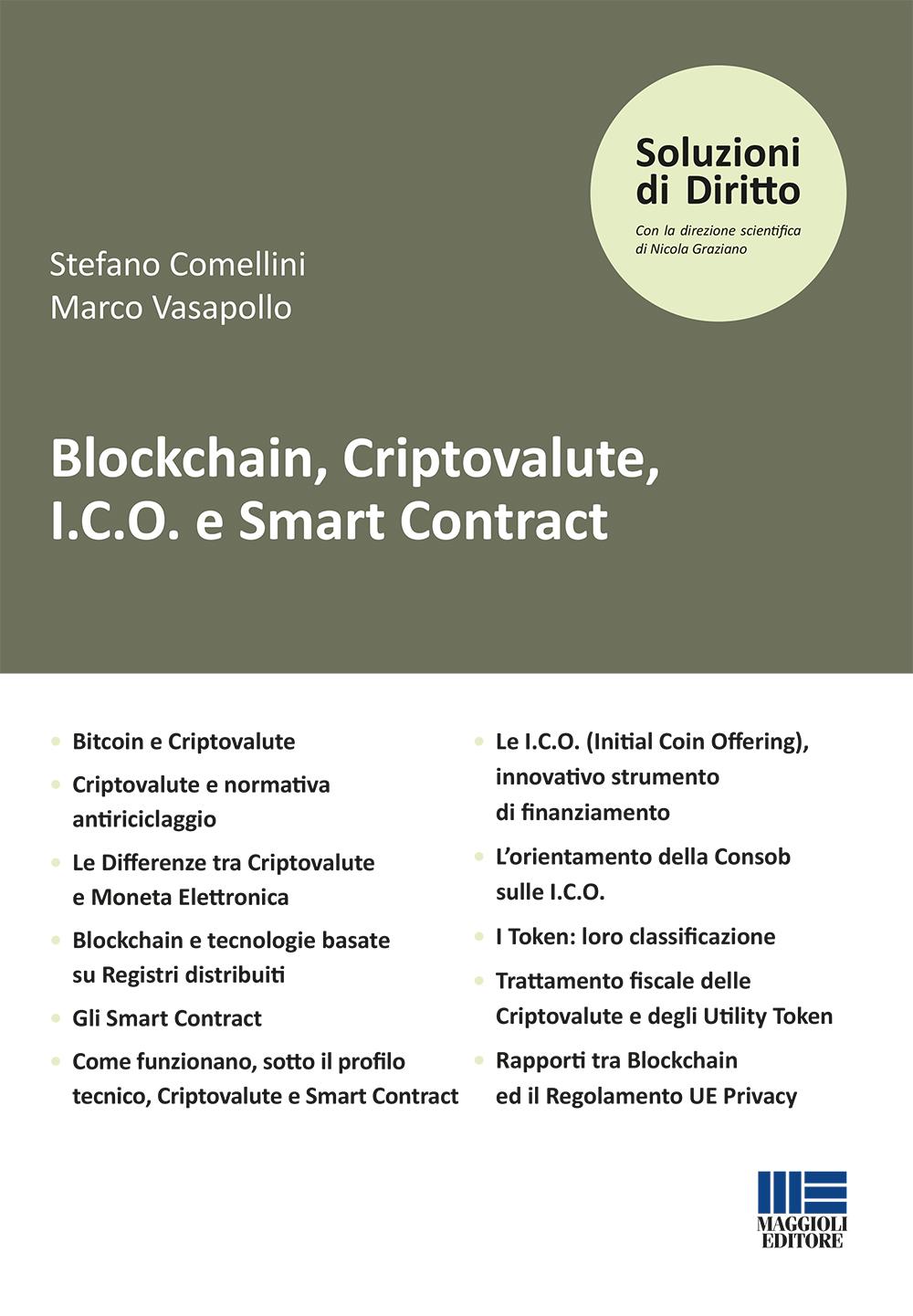 Blockchain, Criptovalute, I.C.O. e Smart Contract
