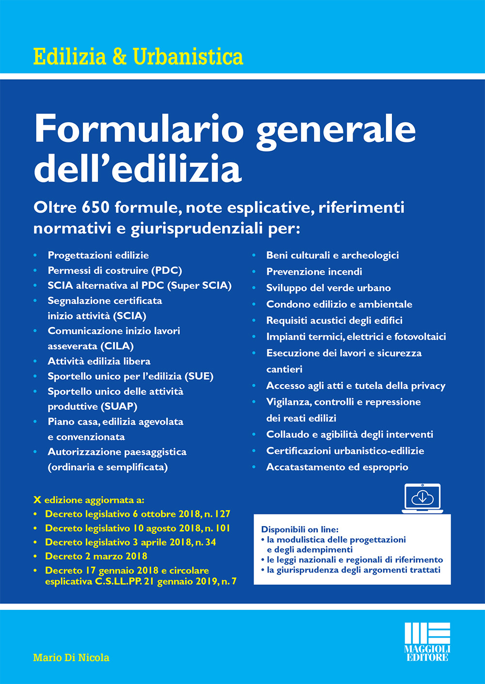 Formulario generale dell'edilizia - Libro carta