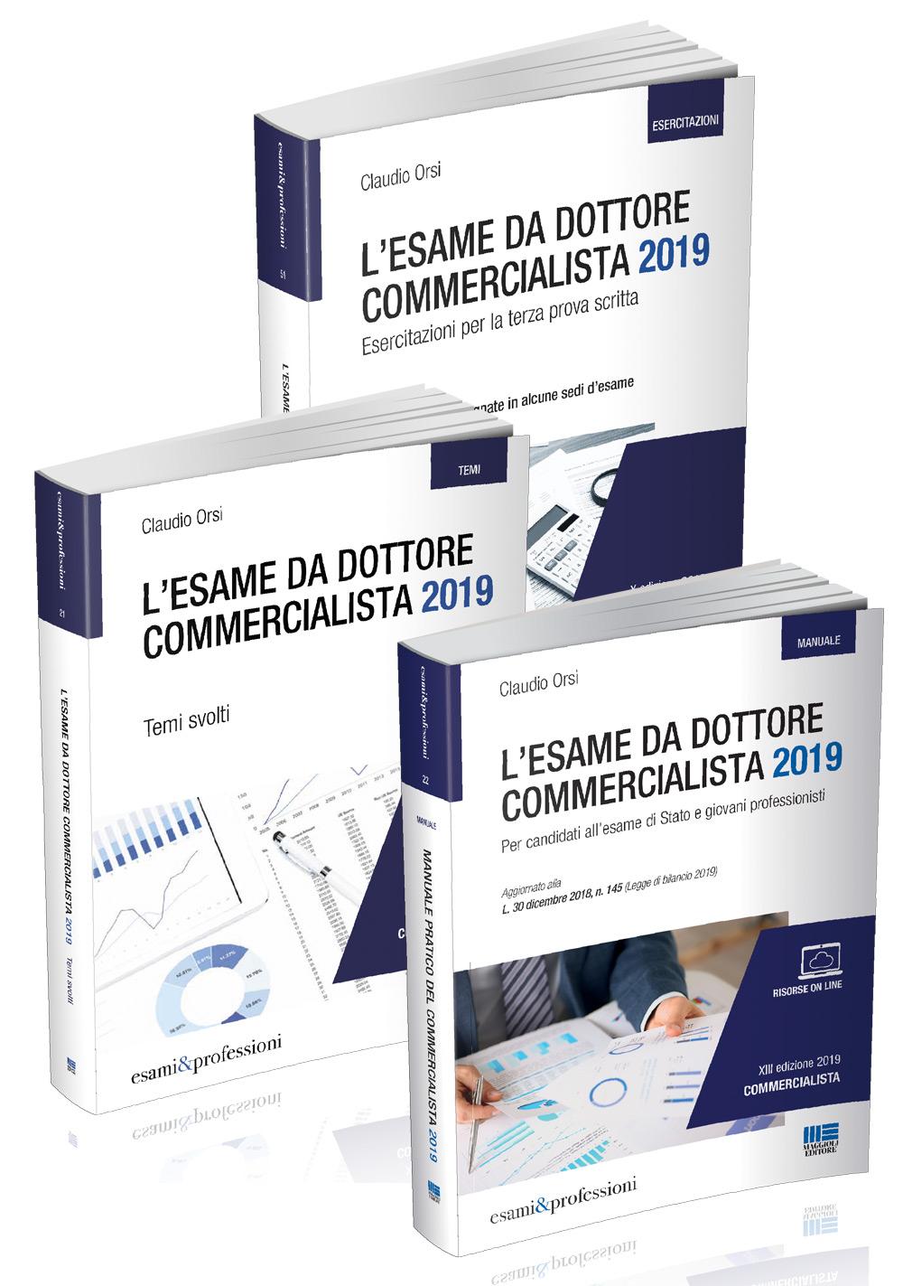 Kit Esame da Dottore Commercialista 2019 - Libro carta