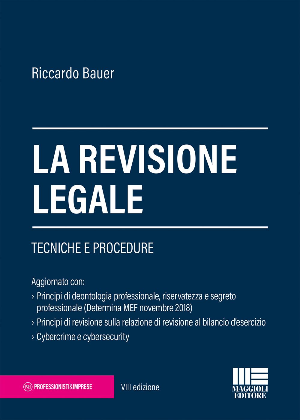 La revisione legale - Libro Carta