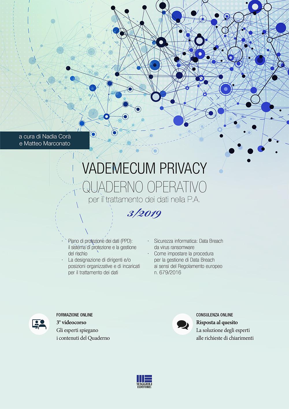 Vademecum privacy. Quaderno operativo 3/2019