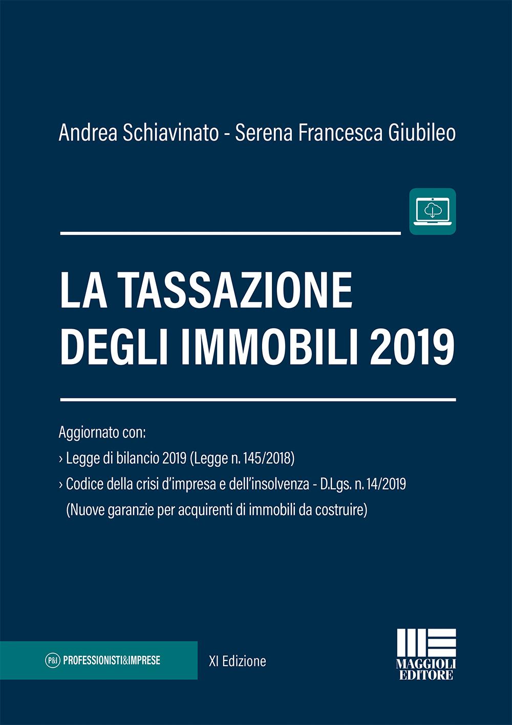 La tassazione degli immobili 2019