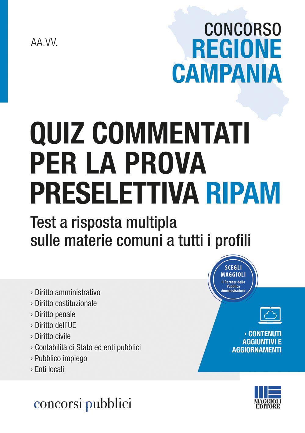 Concorso Regione Campania Quiz commentati