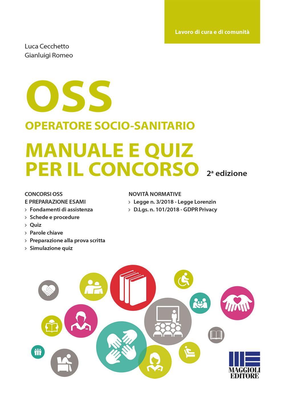 OSS operatore socio-sanitario. Manuale e quiz