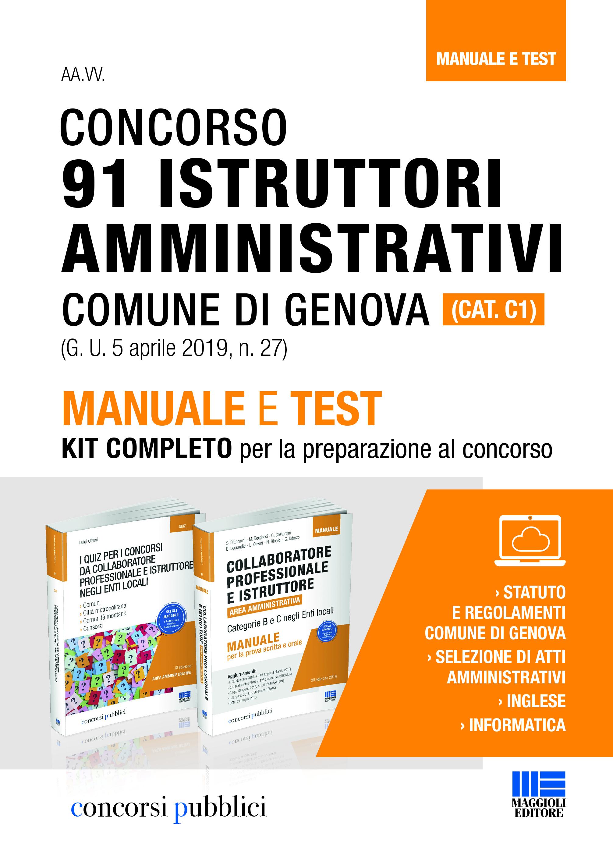 Concorso Istruttori Amministrativi (Comune di Genova)