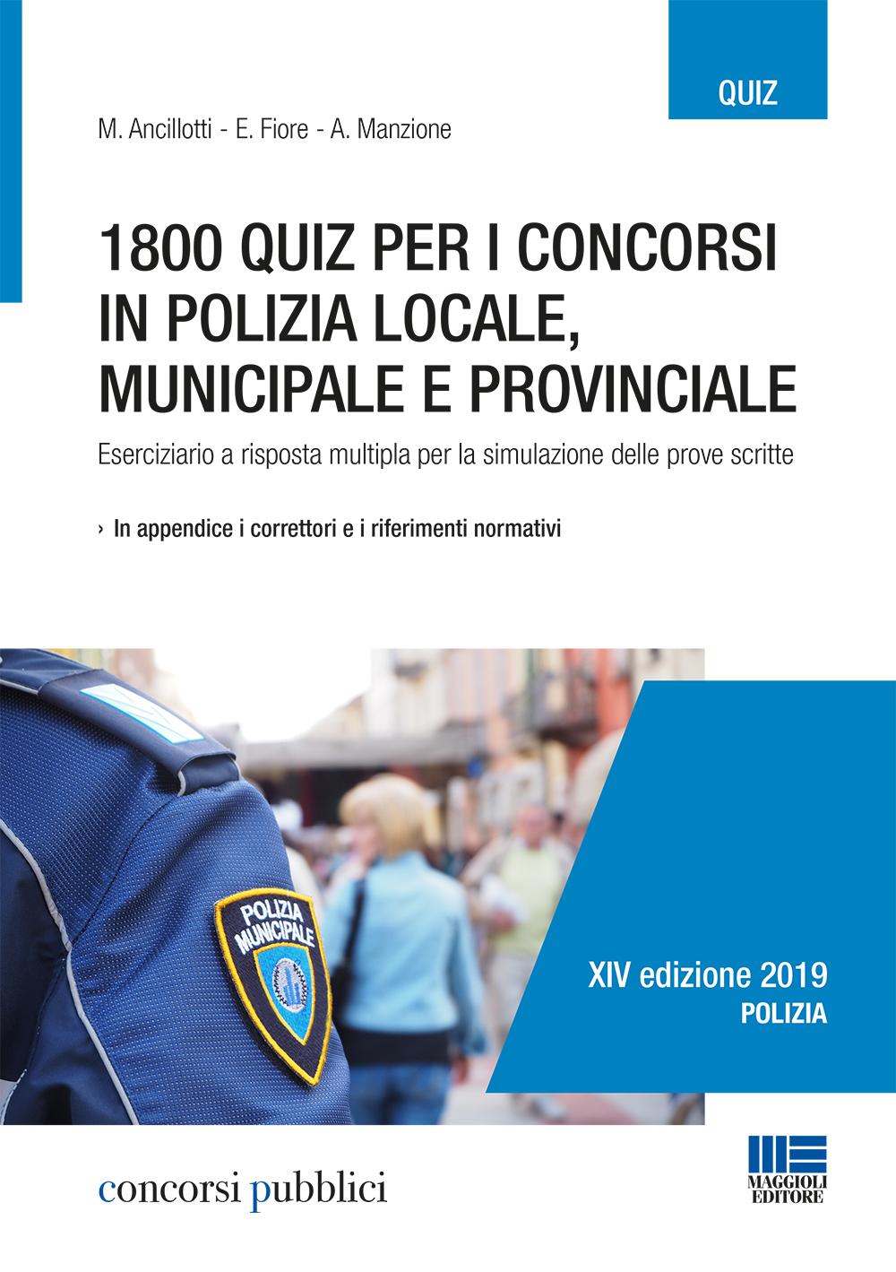 Quiz per i concorsi in polizia locale, municipale