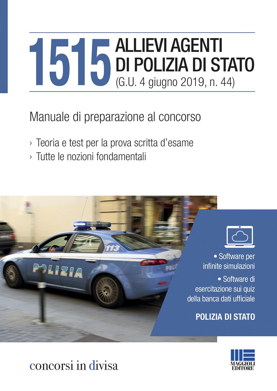 Concorso 1515 allievi agenti Polizia di stato 2019
