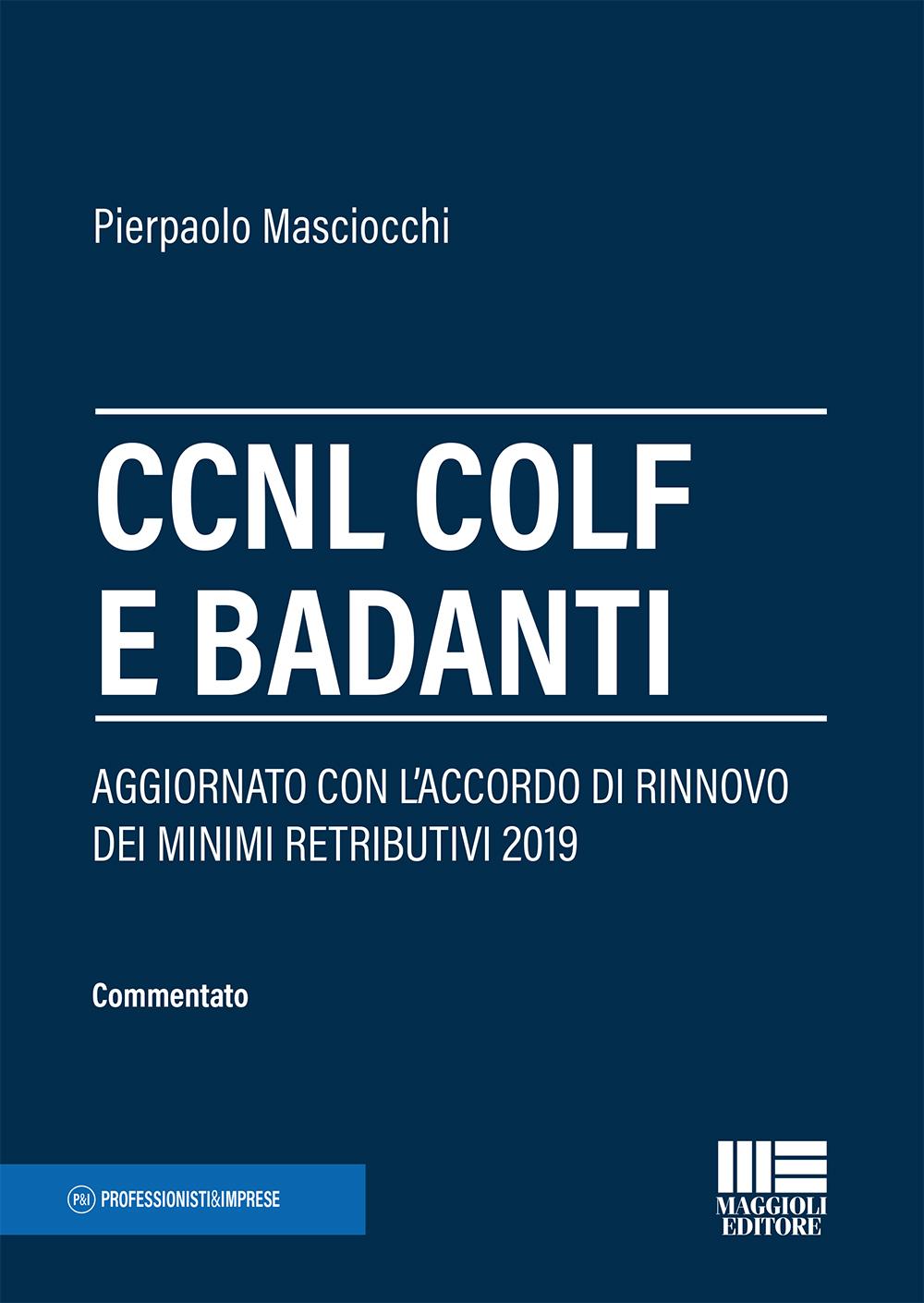 CCNL Colf e Badanti (testo e commento) - Libro di carta