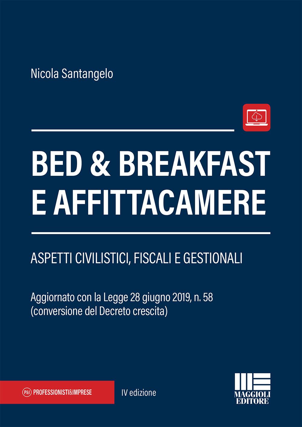 Bed & Breakfast e affittacamere - Libro carta