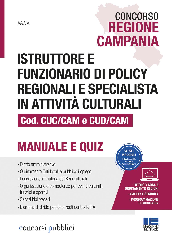 Concorso Regione Campania. Istruttore e funzionario