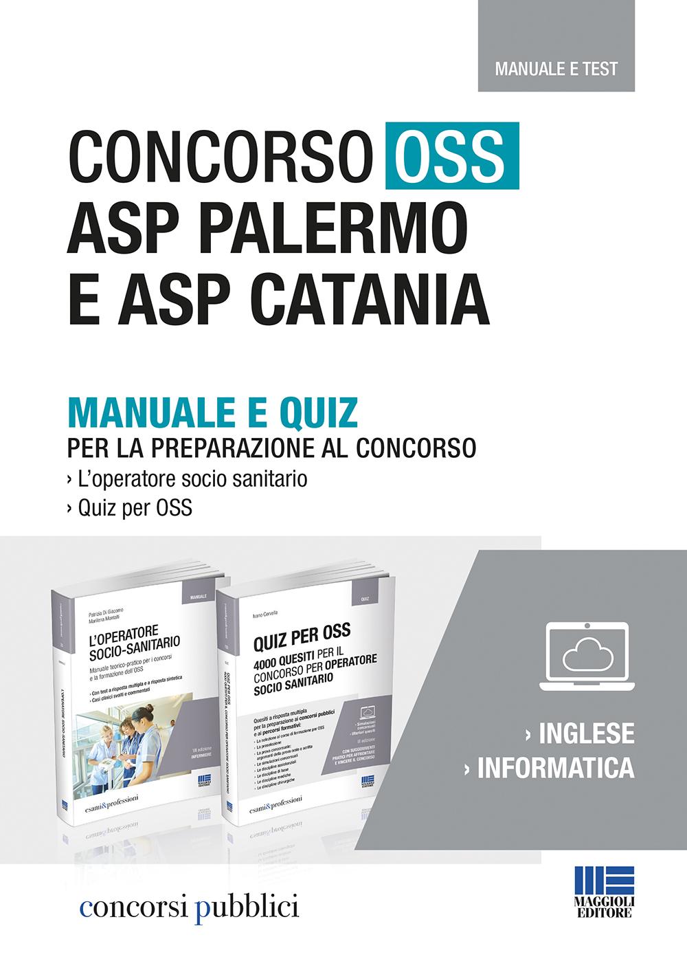 Concorso OSS ASP Palermo e ASP Catania
