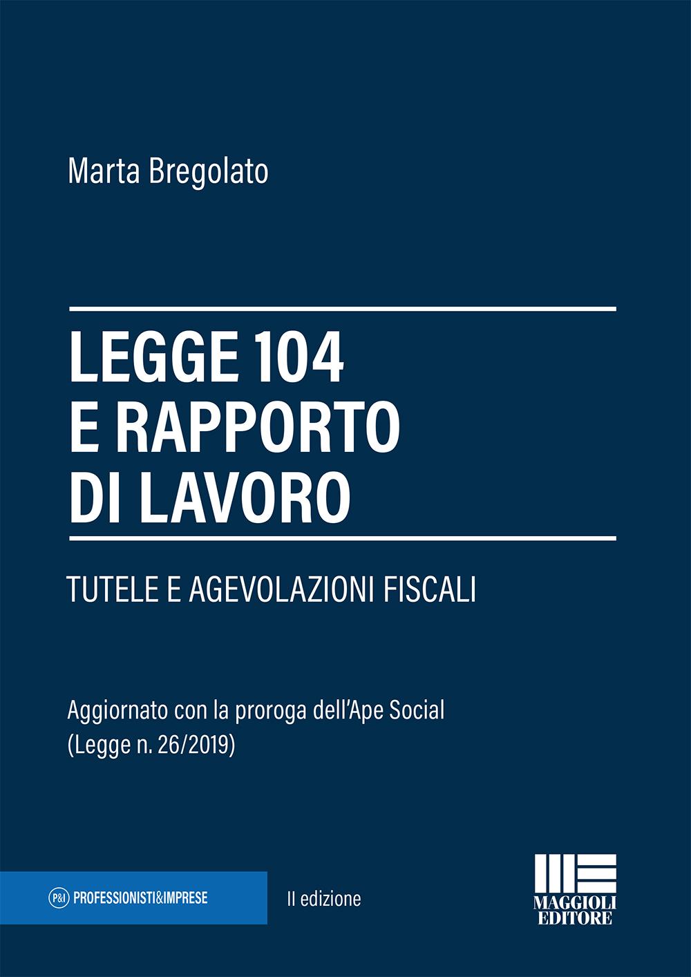 Legge 104 e rapporto di lavoro - Libro di carta