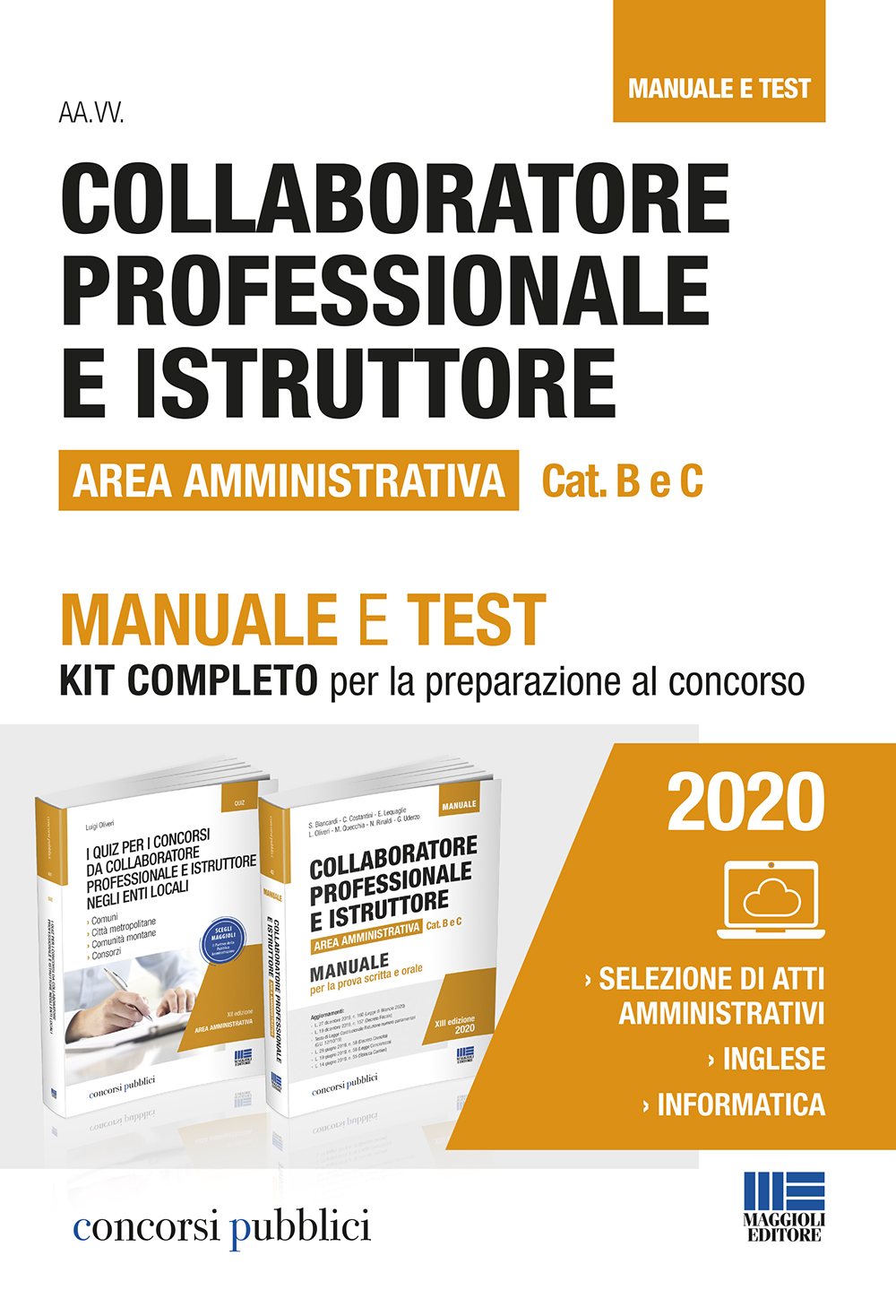Collaboratore professionale e Istruttore Cat. B e C Are