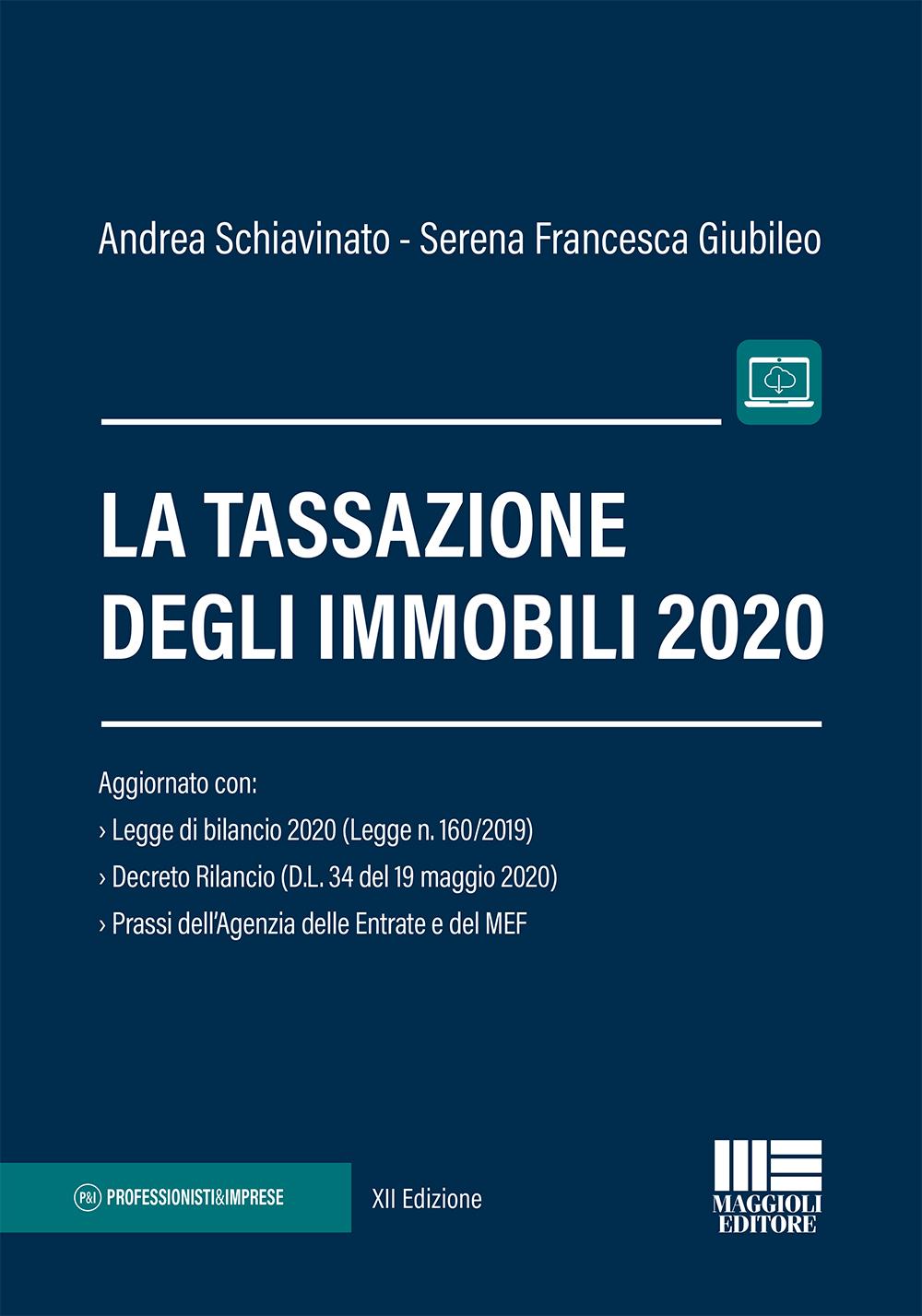 La tassazione degli immobili 2020