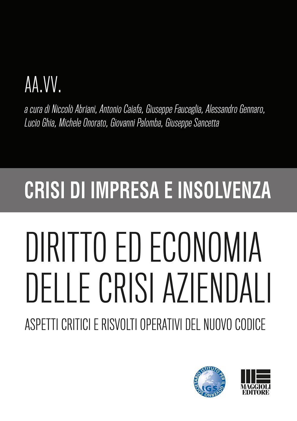 Diritto ed economia delle crisi aziendali-Libro Carta
