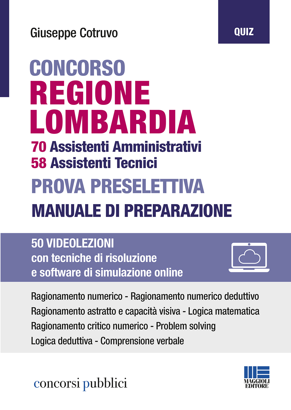 Concorso Regione Lombardia 2020 per Amministrativi