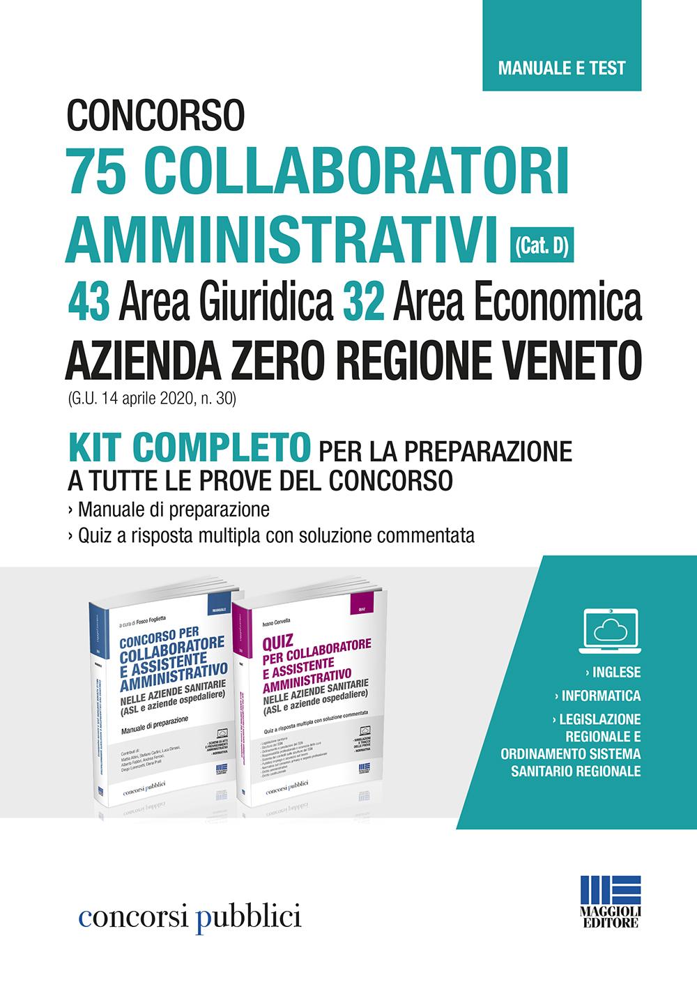 Concorso 75 Collaboratori amministrativi (Cat. D) - 43