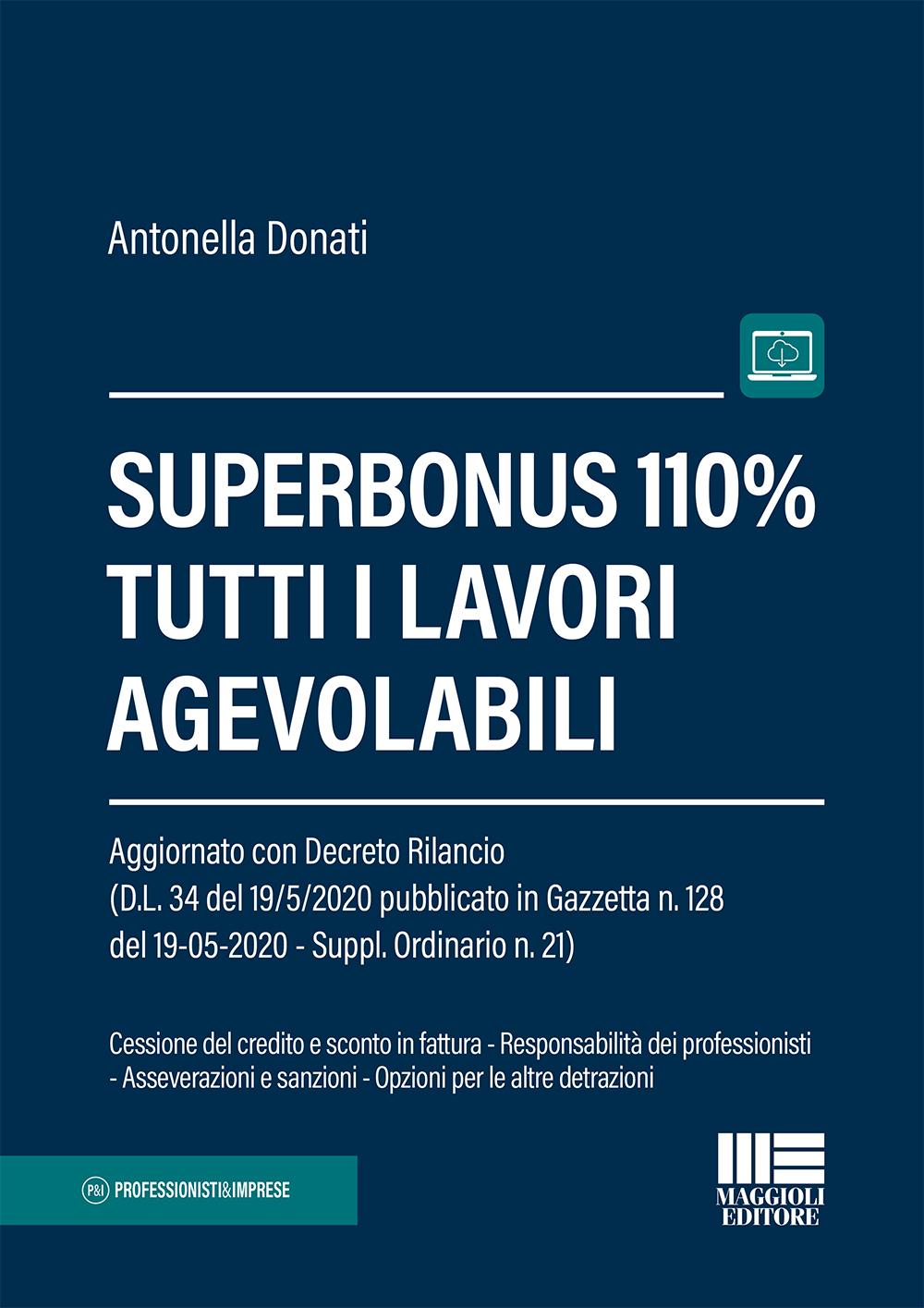 Superbonus 110% - Tutti i lavori agevolabili