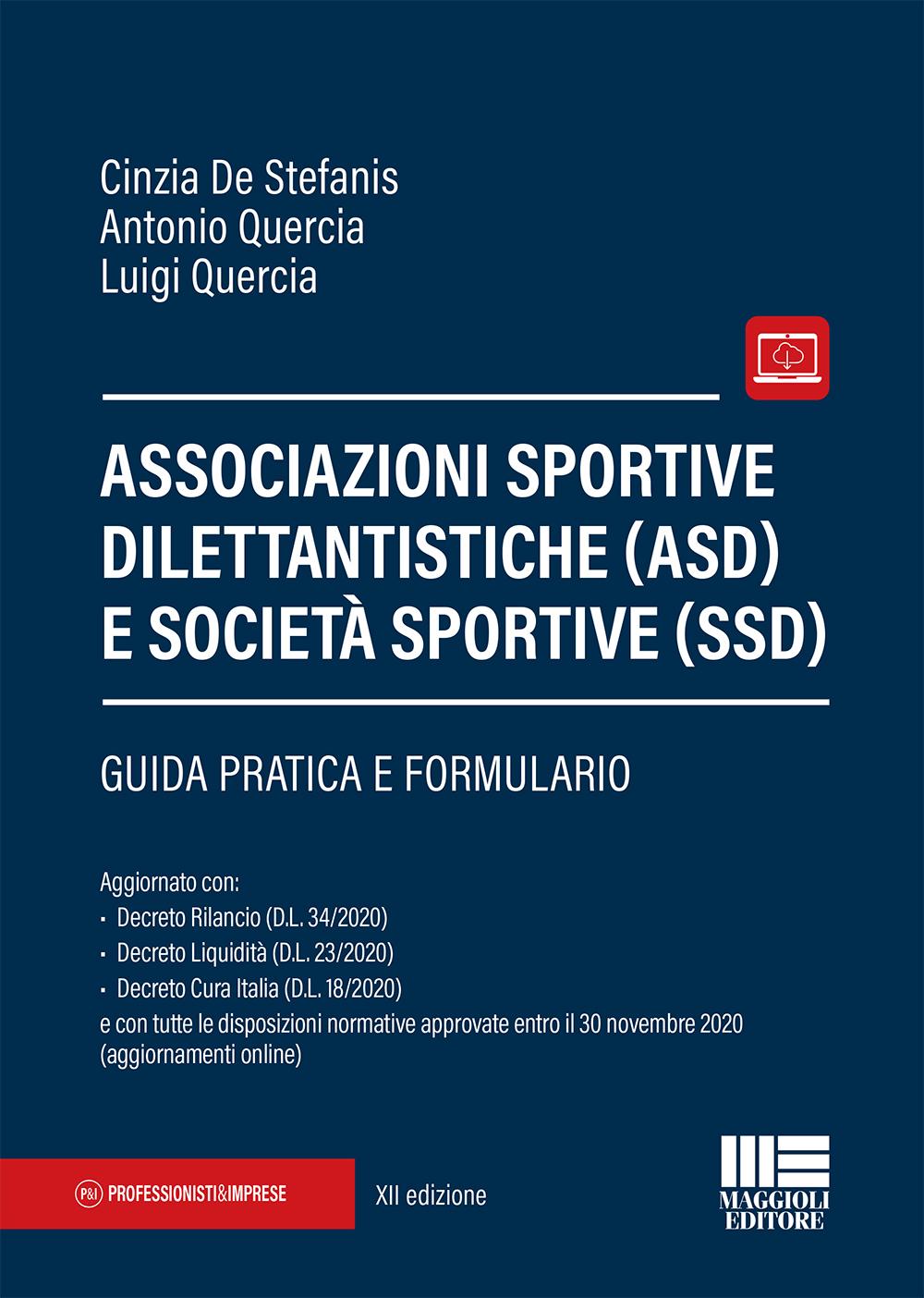 Associazioni sportive dilettantistiche (ASD) e società