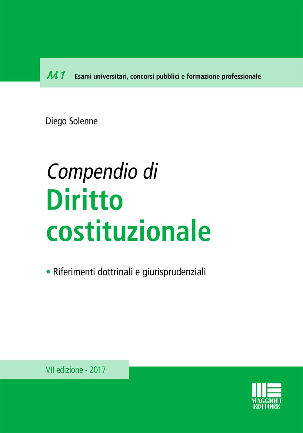 Compendio di Diritto costituzionale (Libro)