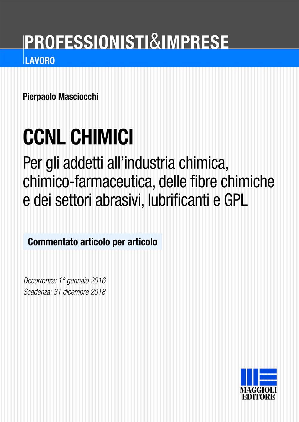 CCNL chimici - (Libro)