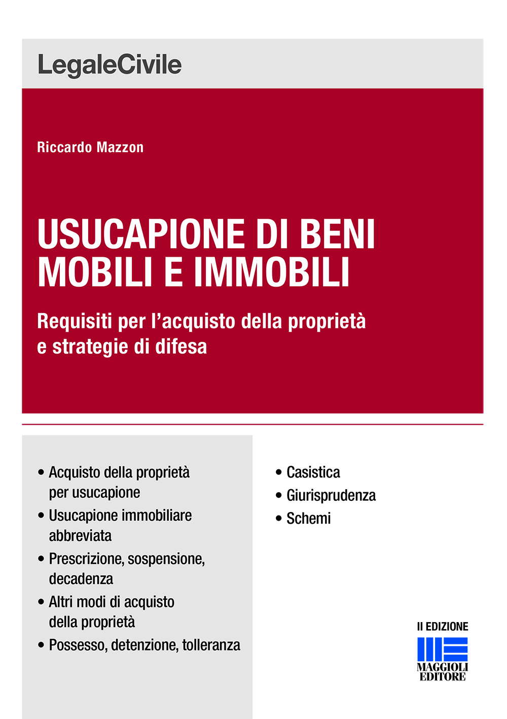 Usucapione di beni mobili e immobili (Libro)