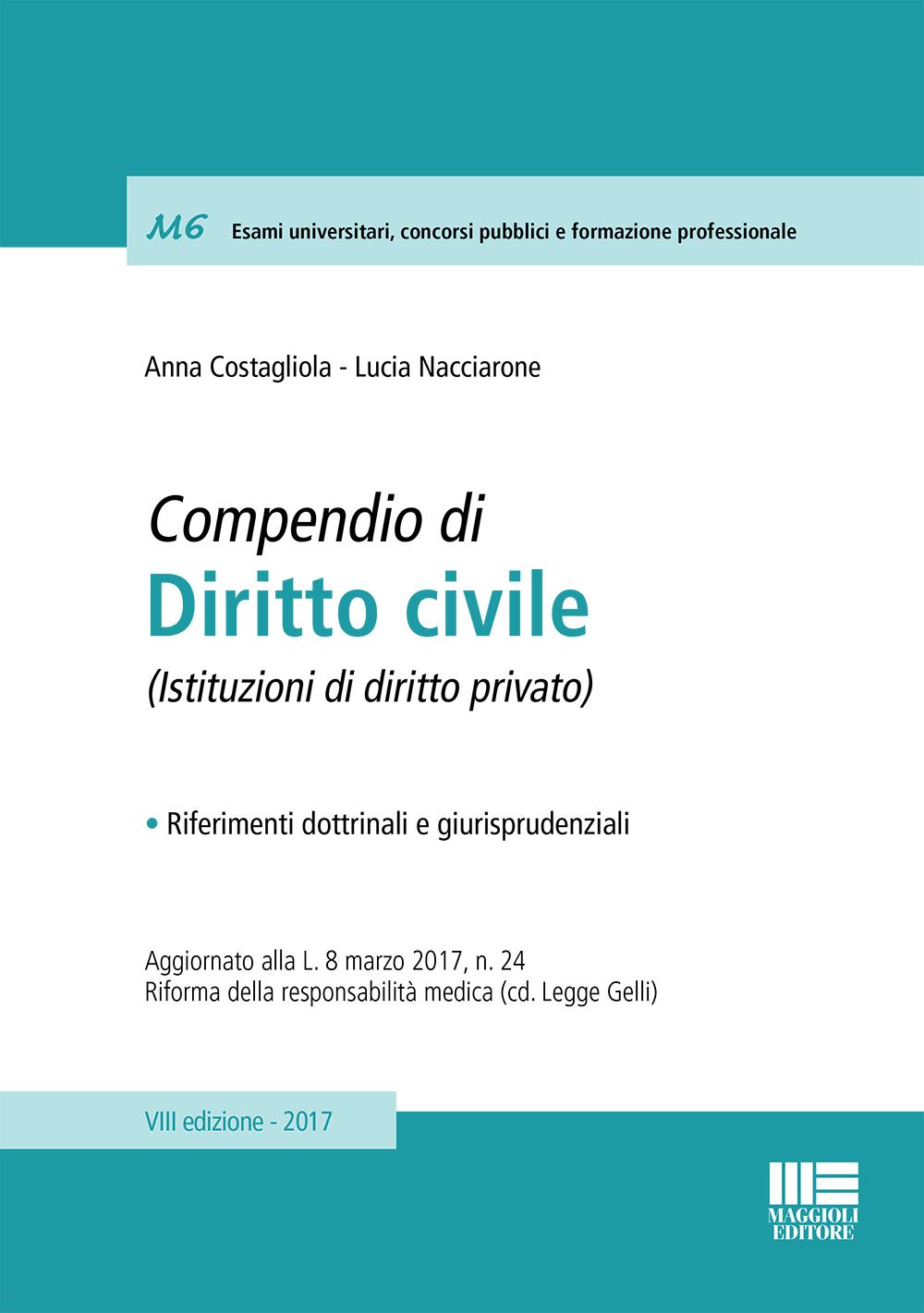 Compendio di Diritto civile - (Libro)