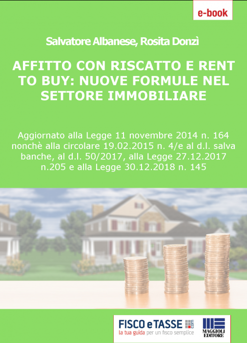 Affitto con riscatto e Rent to buy (eBook 2019)