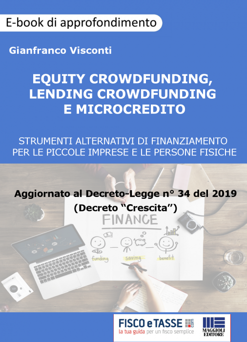 Equity crowdfunding, Lending crowdfunding, Microcredito