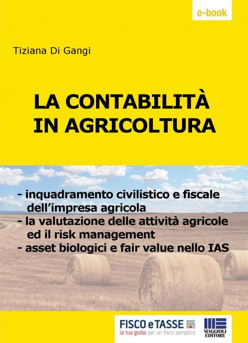 La contabilità in agricoltura (eBook 2019)