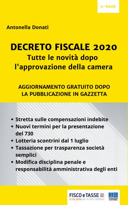 Decreto Fiscale 2020 - eBook + Aggiornamenti Gratuiti