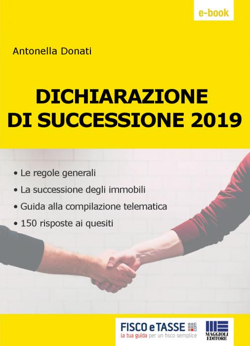 Dichiarazione di successione (eBook 2019)
