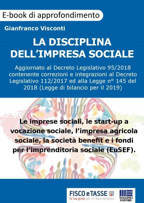 La disciplina dell'Impresa Sociale (eBook 2019)