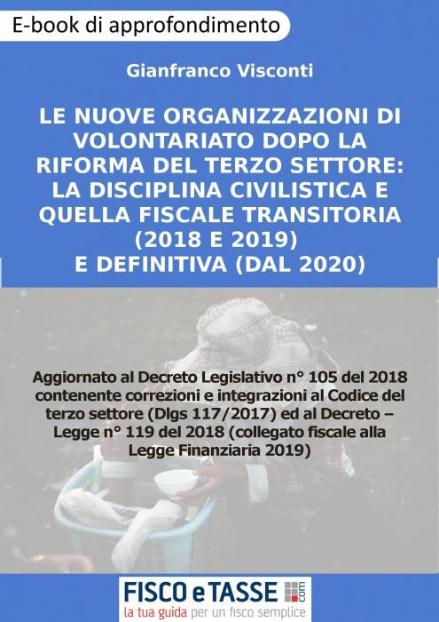 Le nuove organizzazioni di volontariato (eBook 2019)