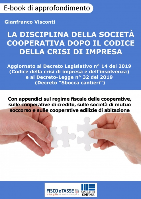La disciplina della Società cooperativa (eBook 2019)
