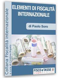 Elementi di fiscalità internazionale (eBook 2017)