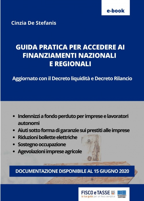 Guida ai finanziamenti Nazionali e Regionali