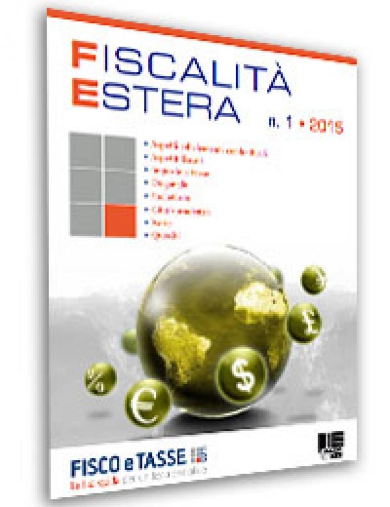 Fiscalità Estera - n. 1/2015