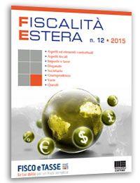 Fiscalità Estera - n. 12/2015