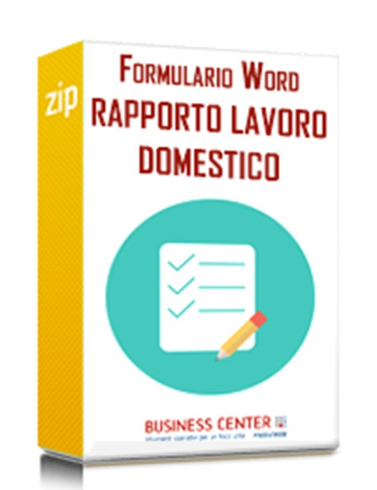Formulario del rapporto di lavoro domestico