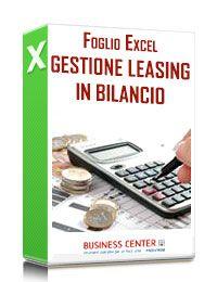 Gestione Leasing Bilancio (excel)