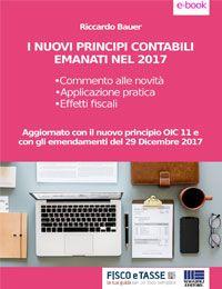 I nuovi Principi Contabili emanati nel 2017 (eBook)
