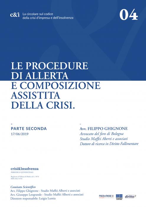 Procedure Allerta e Composizione Assistita Crisi - Pt 2